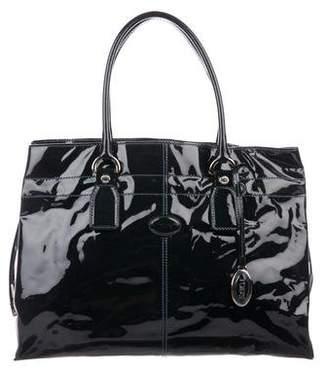 Tod's Patent Leather Shoulder Bag