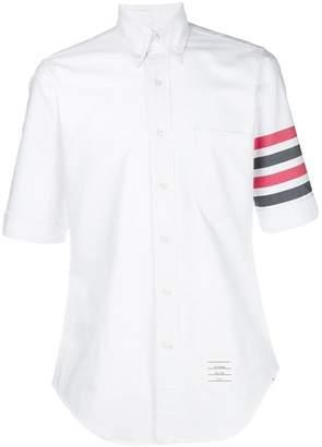 Thom Browne 4-Bar Solid Oxford Shirt