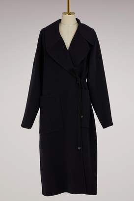 Maison Margiela Double-Breasted Cashmere Coat