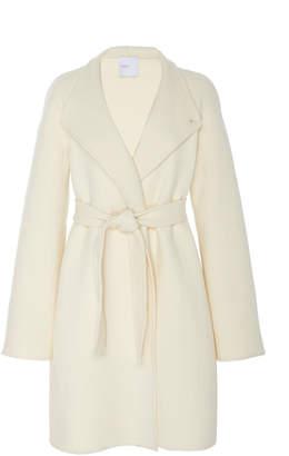 Rosetta Getty Wool-Blend Collared Wrap Coat