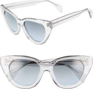 Morgenthal Frederics ODLR X Holly 54mm Cat Eye Sunglasses