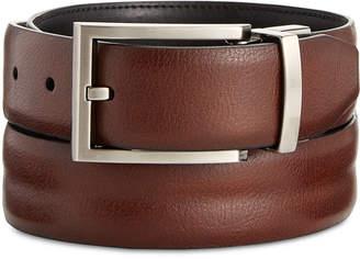 Ryan Seacrest Distinction Feather-Edge Reversible Welt Leather Dress Belt, Created for Macy's