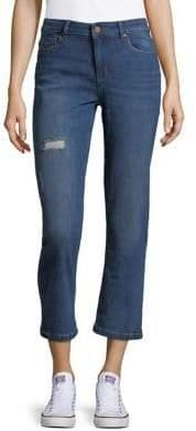 Jones New York Miranda Girlfriend Cropped Jeans