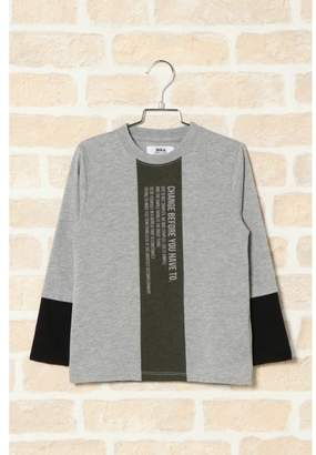 Ikka (イッカ) - [ikka]【キッズ】フェイクレイヤードロンT(100〜160cm)