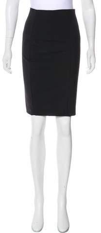 Trina Turk Wool Knee-Length Skirt