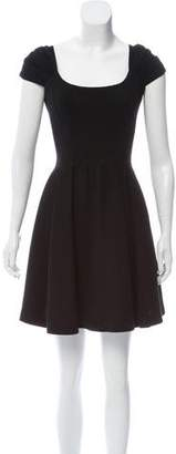 Zac Posen Wool Mini Dress