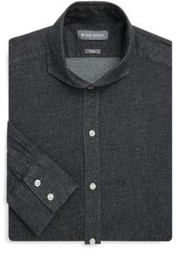 Michael Bastian Denim Buttoned Dress Shirt