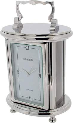 Gift Time Products Unisex Heavy Oval Carriage Desk Clock