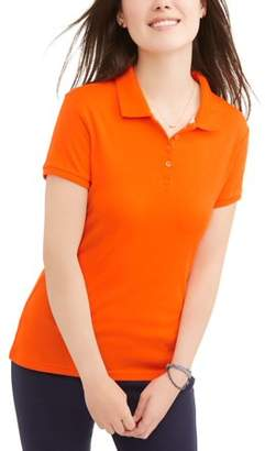 Wonder Nation Juniors' Short Sleeve Polo