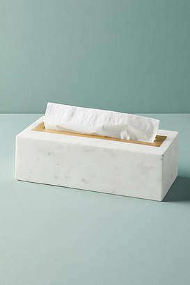 Anthropologie Marble Tissue Box