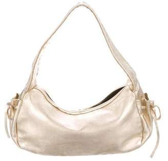 Pre-Owned at TheRealReal · Prada Metallic Nappa Hobo 9bd210c8b6