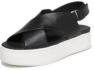 Vince Weslan Flatform Crisscross Sandal