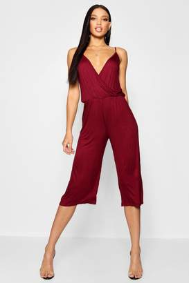 boohoo Culotte Strappy Jumpsuit