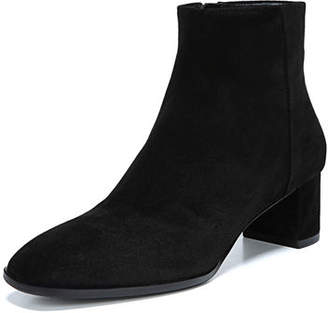 Via Spiga Vail Sport Suede Zip Booties