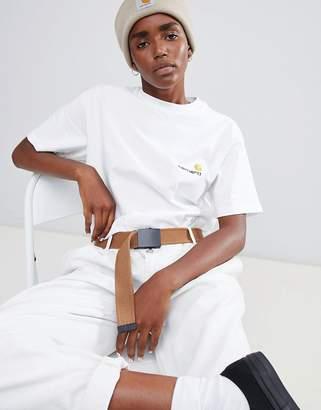 Carhartt WIP Boyfriend T-Shirt With Small Logo