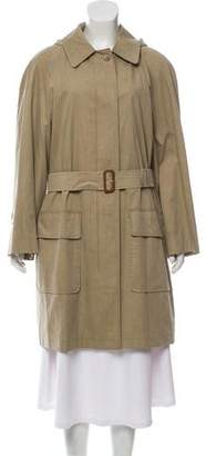 Burberry Knee-Length Trench Coat