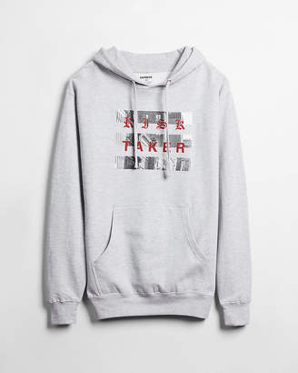 Express Risk Taker Graphic Fleece Hoodie