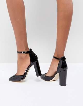 London Rebel Block Heel Shoe