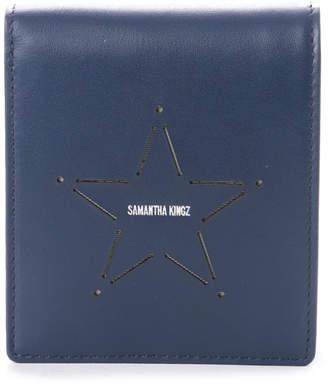 Samantha Kingz (サマンサ キングズ) - サマンサキングズ 星型レザー 折財布