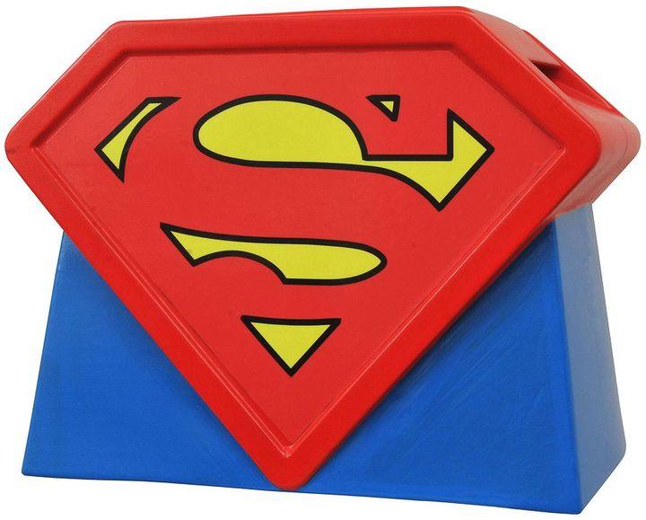 Diamond select toys DC Comics Superman Animated Series Logo Cookie Jar by Diamond Select Toys