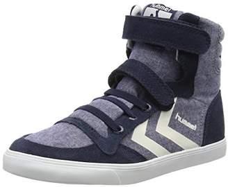 Hummel Unisex Kids' Slimmer Stadil TIE DYE JR HI Low-Top Sneakers Blue Size: