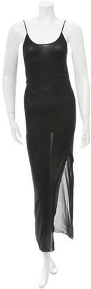 Jean Paul Gaultier Sheer Maxi Dress $110 thestylecure.com