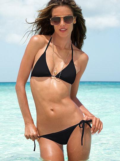 Beach Sexy Triangle Bikini Set
