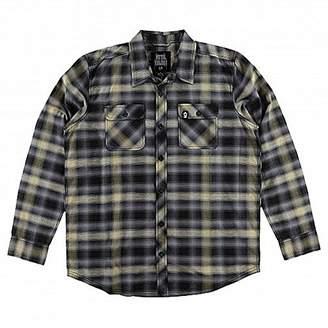 Metal Mulisha Men's Misdemeanor Long Sleeve Woven Shirt