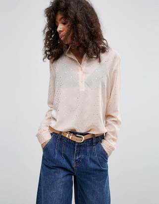 Minimum High Neck Blouse