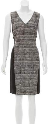 Akris Punto Tweed Sleeveless Dress