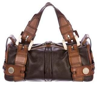 MICHAEL Michael Kors Leather Zip Handle Bag