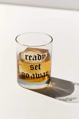 Urban Outfitters India K For Ready Set Go Lowball Glass