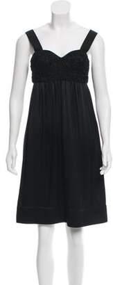 Proenza Schouler Silk Empire Dress