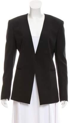 Balmain Wool Structured Blazer