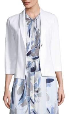 Peserico One-Button Jersey Blend Blazer