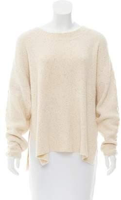 See by Chloe Rib-Knit Bateau Neck Sweater