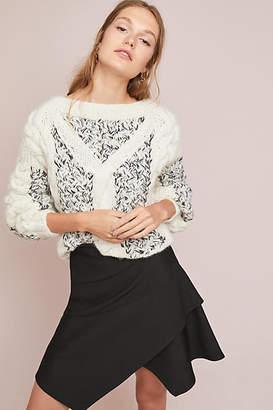 Maeve Layered Mini Skirt