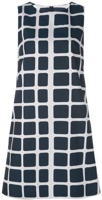 Paule Ka short checked dress