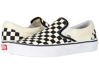 Vans Classic Slip-Ontm Core Classics (Black and White Checker/White