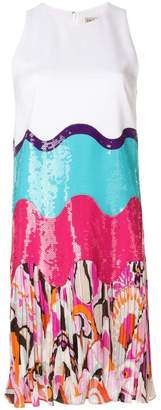 Emilio Pucci sequin pleated dress