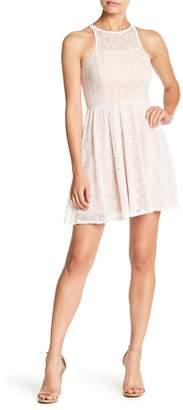 Jump Lace Sleeveless Dress
