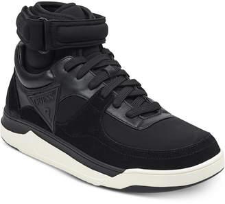 GUESS Men's Woody High-Top Sneakers Men's Shoes