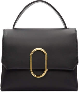 3.1 Phillip Lim Black Mini Alix Top Handle Satchel