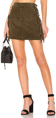 House Of Harlow X REVOLVE Serafina Leather Mini Skirt