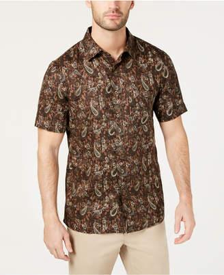 32ca888d58d Tasso Elba Men Merzo Paisley Linen Shirt