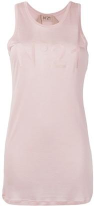 No.21 logo vest top