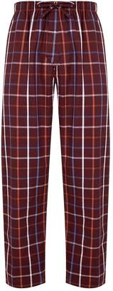 Derek Rose Cotton Check Pyjama Bottoms