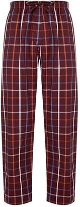Derek Rose Cotton Check Pyjama Bottoms