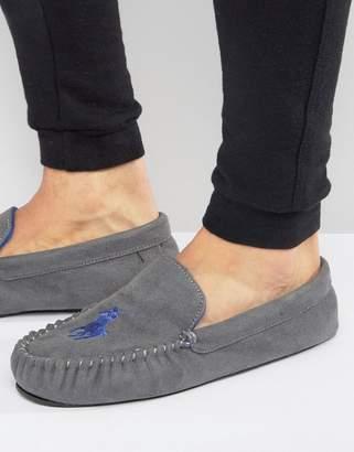 Ralph Lauren Dezi Moccasin Slippers