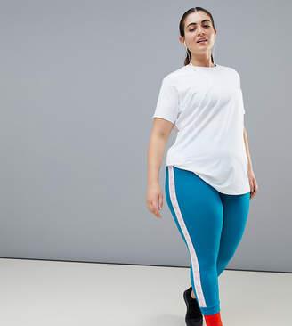 Asos 4505 4505 Curve elastic double cuff legging